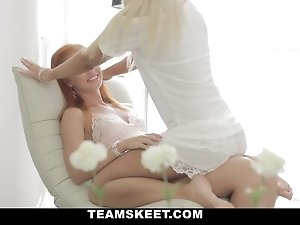 LustHD - Slutty Russian Best Friends Experiment With Each Other!