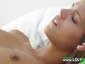 ultra stunning two lesbians in bedroom